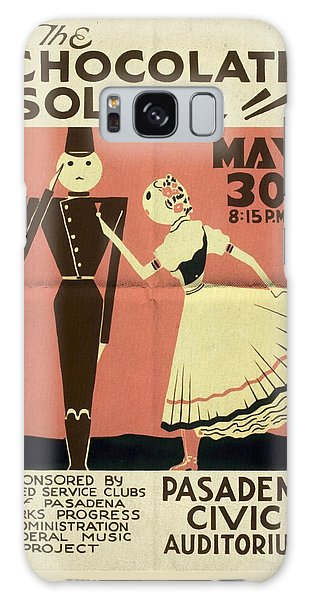 The Chocolate Soldier - Vintage Poster Folded Galaxy Case