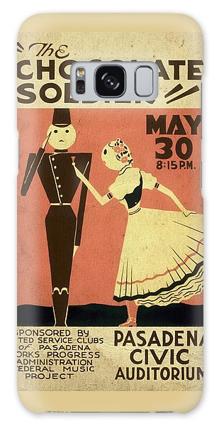The Chocolate Soldier - Vintage Poster Vintagelized Galaxy Case