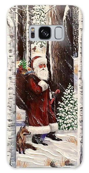 The Christmas Forest Visitor 2 Galaxy Case