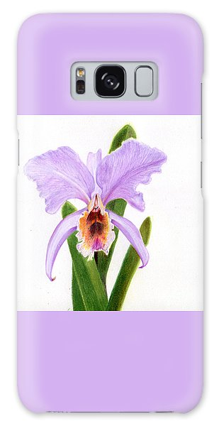 The Christmas Orchid Galaxy Case