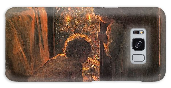 Holiday Galaxy Case - The Christmas Tree by Henry Mosler