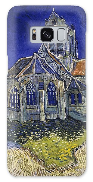 Galaxy Case featuring the painting The Church At Auvers by Van Gogh