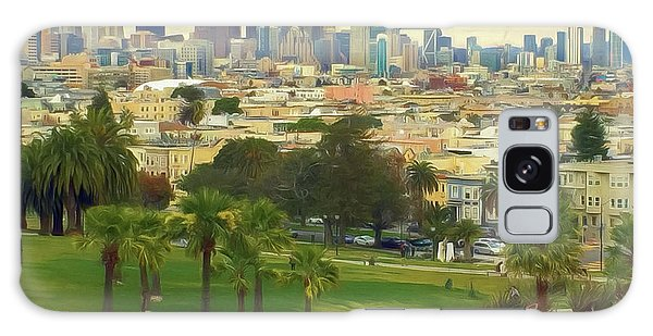 The City From Dolores Park Galaxy Case