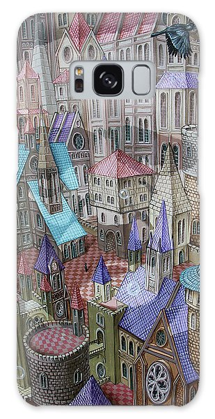 The City Of Crow Galaxy Case