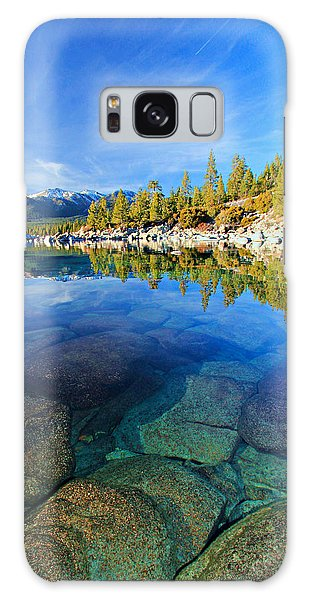 The Clarity Of Lake Tahoe Galaxy Case