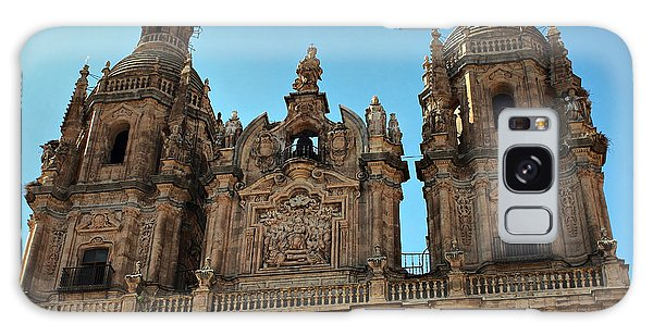 The Clerecia Church In Salamanca Galaxy Case by Farol Tomson