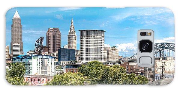 The Cleveland Skyline Galaxy Case