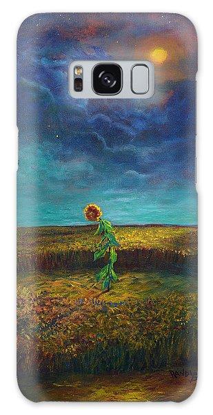 The Clock Of God Galaxy Case by Randy Burns