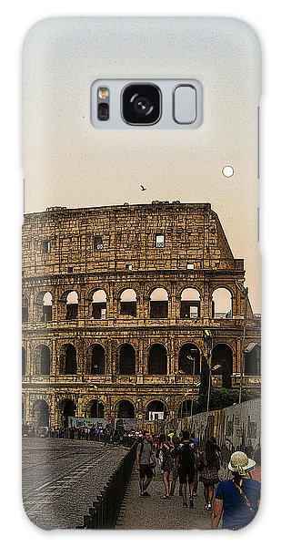 The Coliseum And The Full Moon Galaxy Case