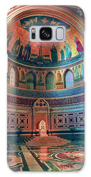The Colorful Interior Of Roman Catholic Cathedral Galaxy Case