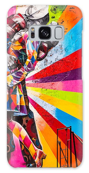 The Colorful Kiss Galaxy Case