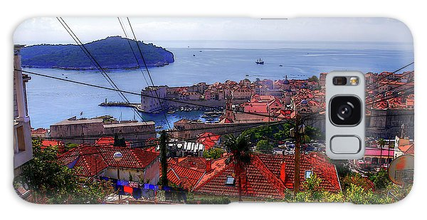 The Colourful City Of Dubrovnik Galaxy Case