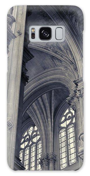 Galaxy Case featuring the photograph The Columns Of Saint-eustache, Paris, France. by Richard Goodrich