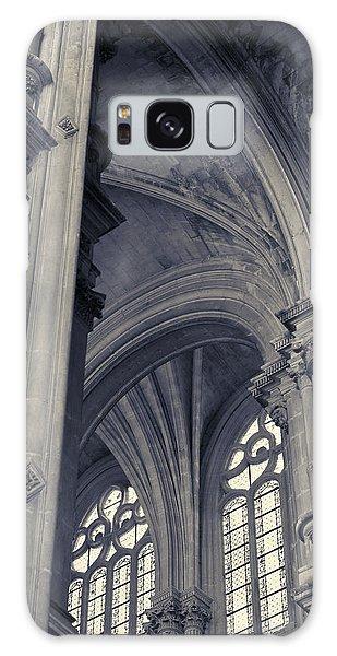 The Columns Of Saint-eustache, Paris, France. Galaxy Case