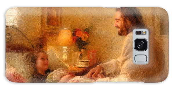 Galaxy Case featuring the painting The Comforter by Greg Olsen