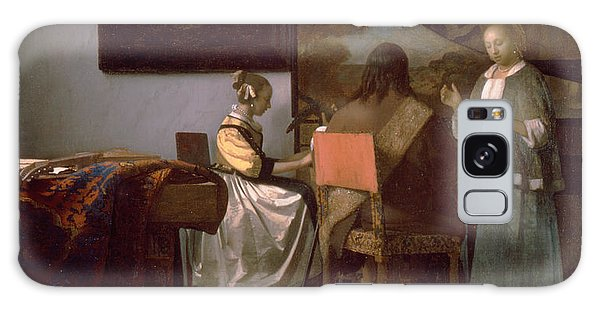 Jan Vermeer Galaxy Case - The Concert by Jan Vermeer