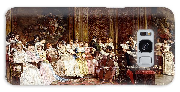 Tapestry Galaxy Case - The Concert by Joseph Frederic Charles Soulacroix