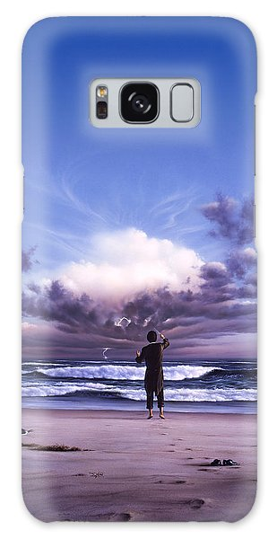 Wind Power Galaxy Case - The Conductor by Jerry LoFaro