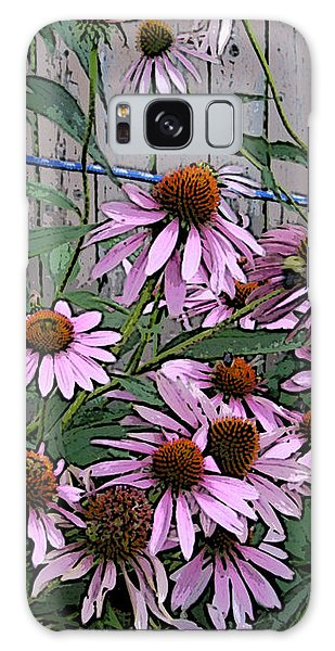 The Coneflowers Galaxy Case