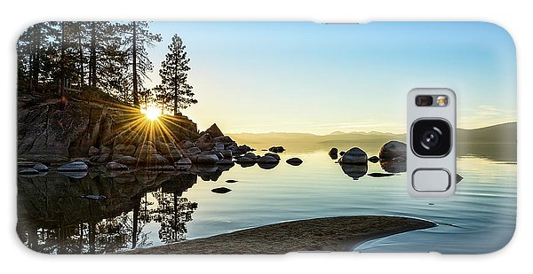 Rock Galaxy Case - The Cove At Sand Harbor by Jamie Pham