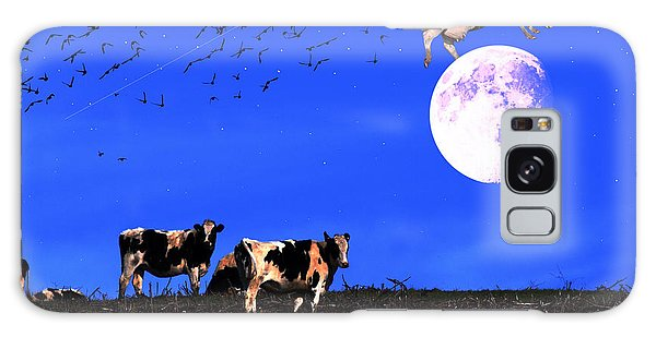 The Cow Jumped Over The Moon Galaxy Case