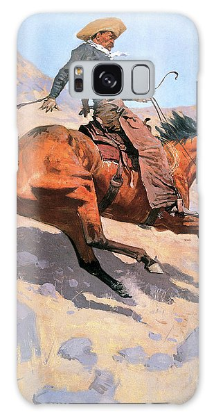 Whip Galaxy Case - The Cowboy by Frederic Remington
