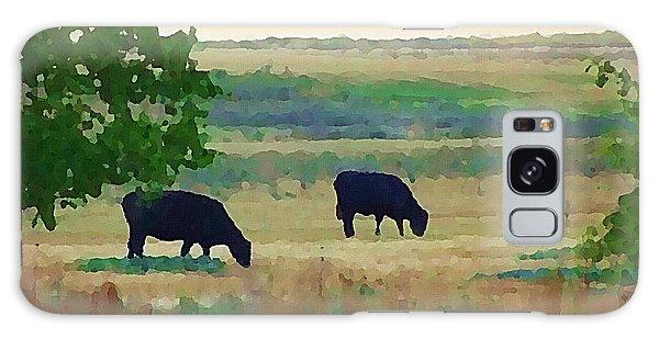 The Cows Next Door Galaxy Case