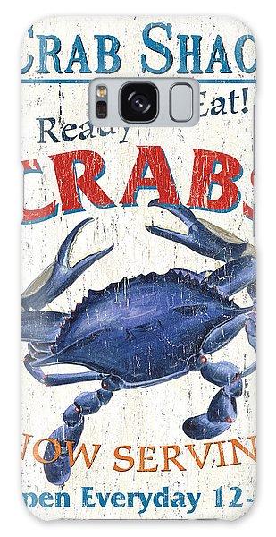 Claws Galaxy Case - The Crab Shack by Debbie DeWitt