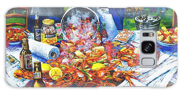 Food Galaxy Case - The Crawfish Boil by Dianne Parks