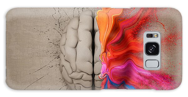 The Creative Brain Galaxy Case by Johan Swanepoel