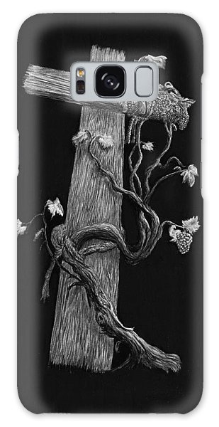 The Cross And The Vine Galaxy Case