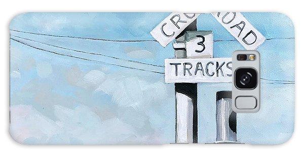 The Crossing - Train Signals Galaxy Case