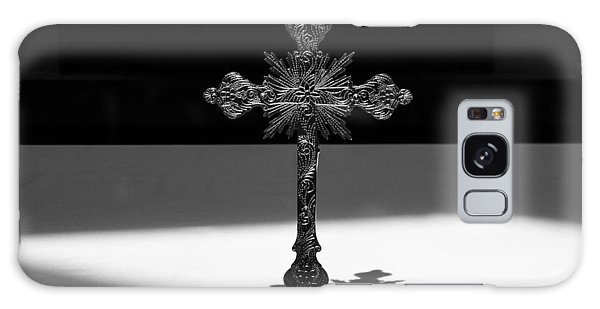 Galaxy Case featuring the photograph The Cross's Shadow by Monte Stevens
