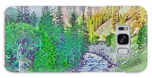 The Crystal River Around Redstone Colorado Galaxy Case
