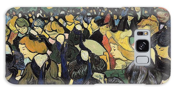 Dance Galaxy Case - The Dance Hall At Arles by Vincent Van Gogh