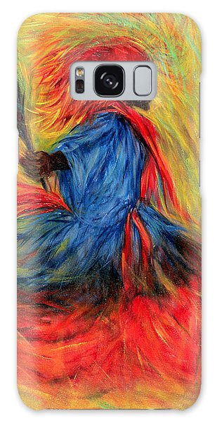 Headdress Galaxy Case - The Dancer by Tilly Willis