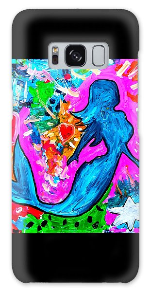 The Dancing Mermaid Galaxy Case