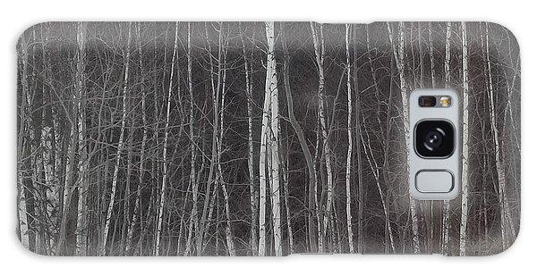 The Dark Beyond The Trees Galaxy Case by Jackie Mueller-Jones
