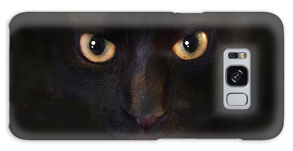The Dark Cat Galaxy Case by Gina Dsgn