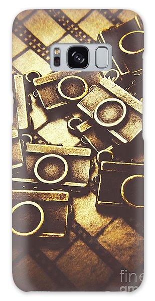 Vintage Camera Galaxy Case - The Darkroom Process by Jorgo Photography - Wall Art Gallery