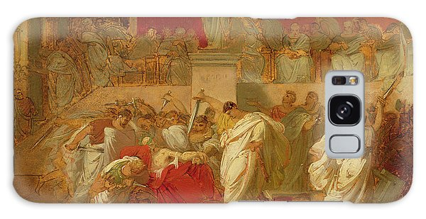 Ides Of March Galaxy Case - The Death Of Caesar  by Vincenzo Camuccini