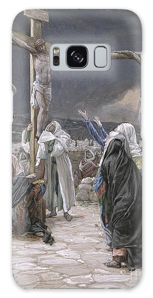 New Testament Galaxy Case - The Death Of Jesus by Tissot