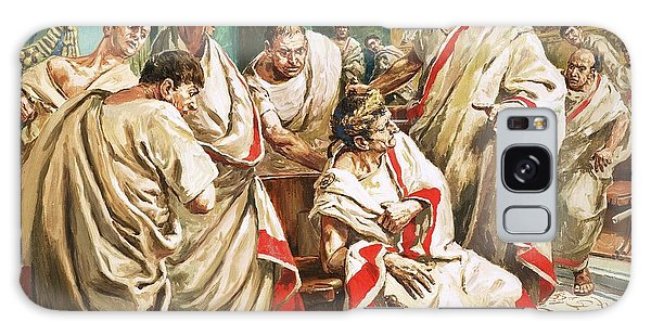 Ides Of March Galaxy Case - The Death Of Julius Caesar  by C L Doughty