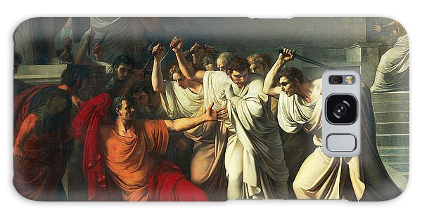 Ides Of March Galaxy Case - The Death Of Julius Caesar by Vincenzo Camuccini