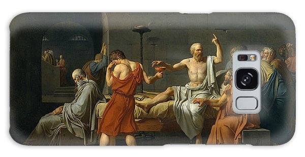 Philosopher Galaxy Case - The Death Of Socrates, 1787 by Jacques-Louis David