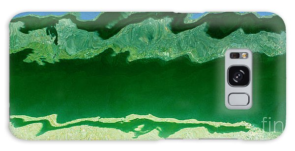Galaxy Case featuring the photograph The Deep End by Wendy Wilton