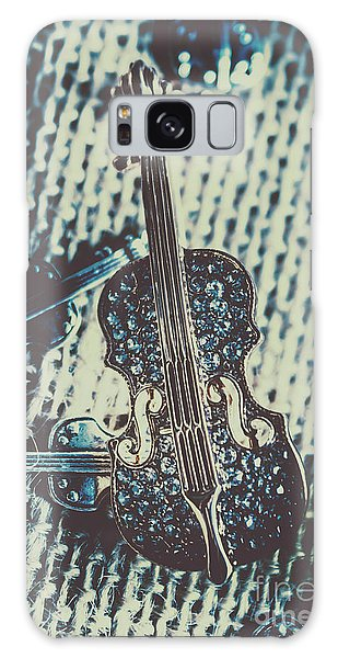 Violin Galaxy S8 Case - The Diamond Symphony by Jorgo Photography - Wall Art Gallery