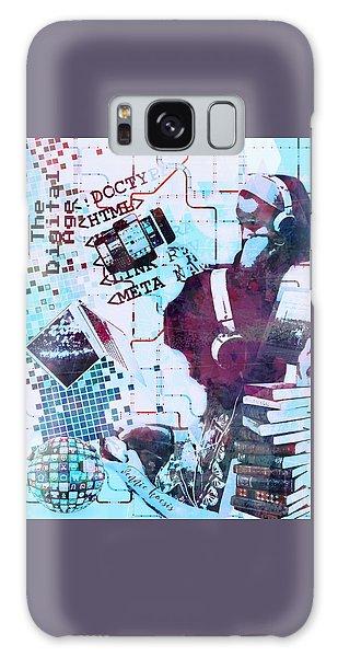 The Digital Age Galaxy Case by Vennie Kocsis