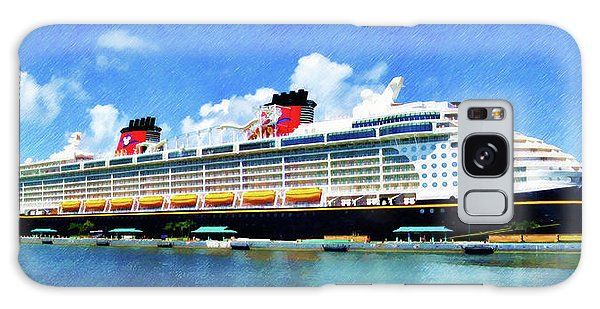 The Disney Dream In Nassau Galaxy Case