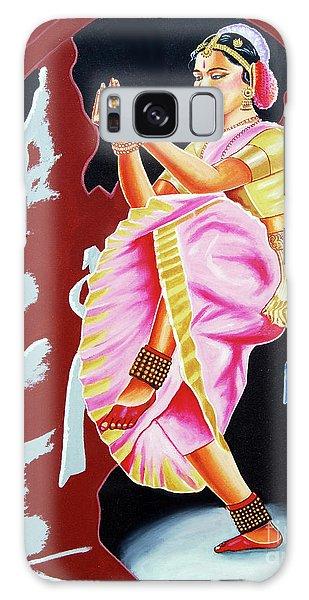 The Divine Dance Of Bharatanatyam Galaxy Case